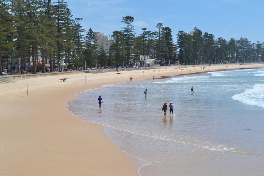 manly beach, beach, sydney, sea change