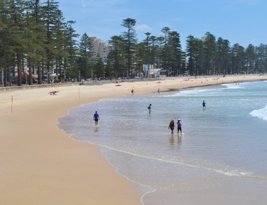 manly beach, beach, sydney, sea change