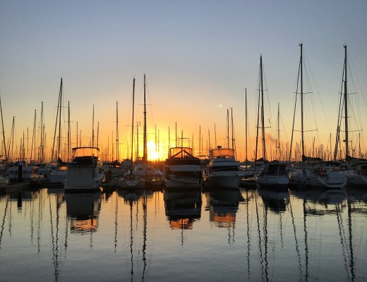 sunrise, manly, boat harbour, brisbane, moretonbay