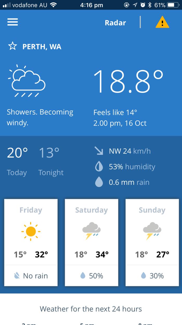 perth, weather, temperature, climate