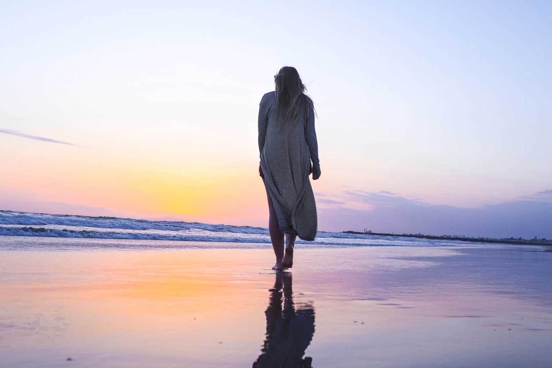 beach, beach walk, sunset, sunrise, surf, sand, ocean,
