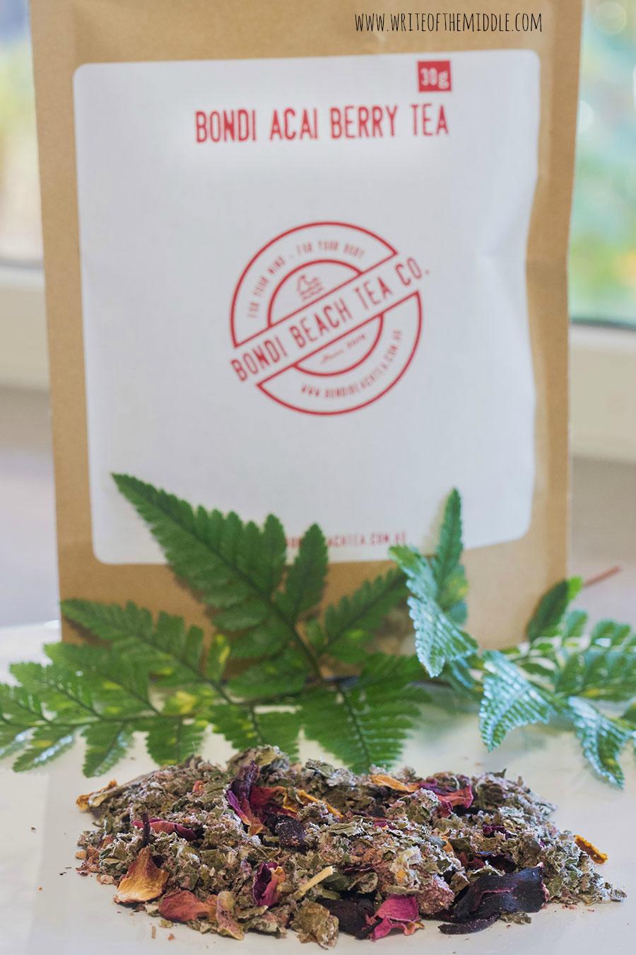acai berry, tea, herbal tea, organic tea,