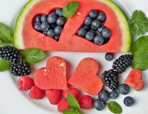 heart, health, fruit