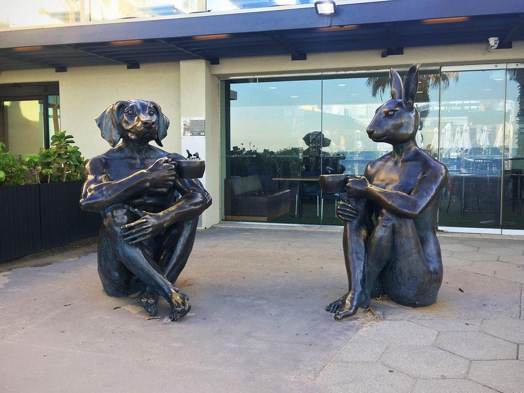 sculpture, st kilda