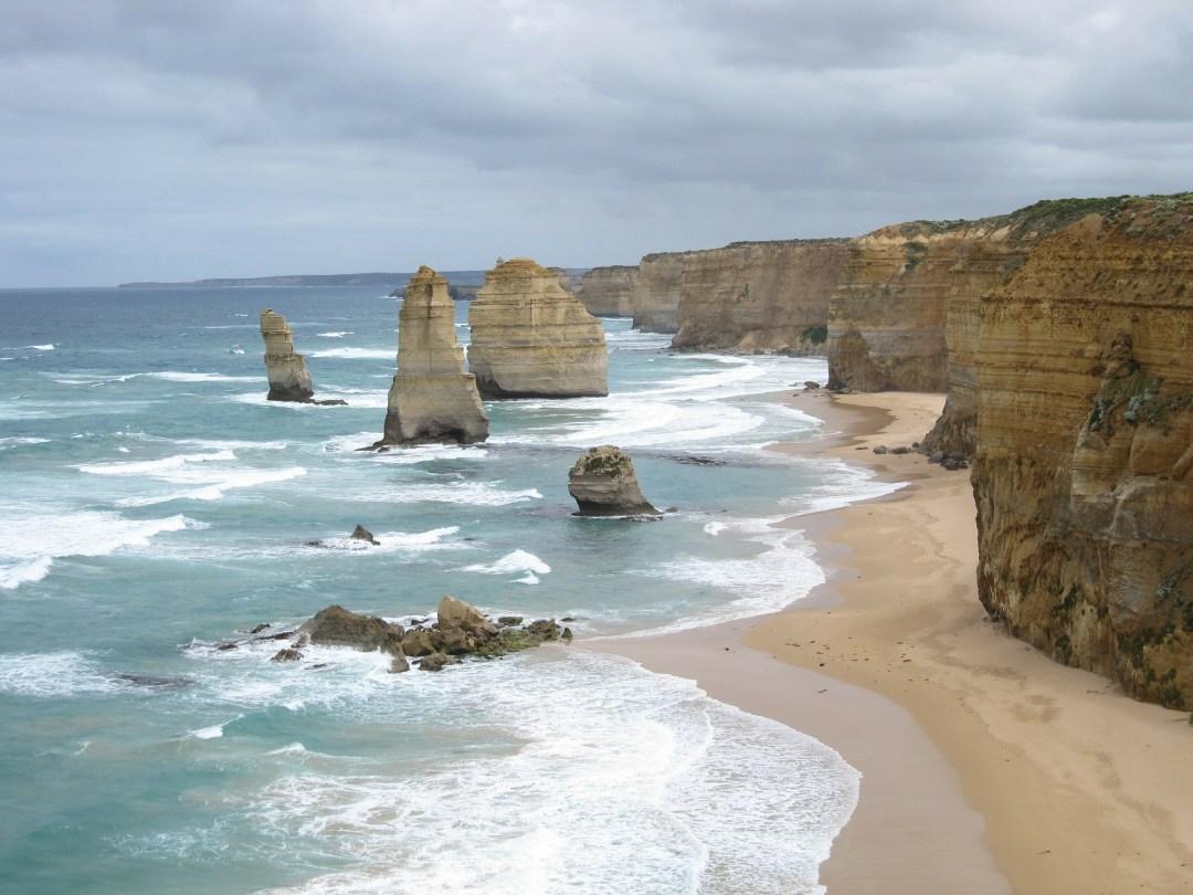 the great ocean road, melbourne, victoria, australia