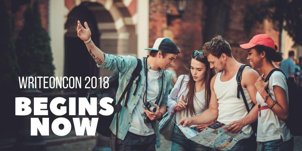 WriteOnCon 2018: Here We Go!