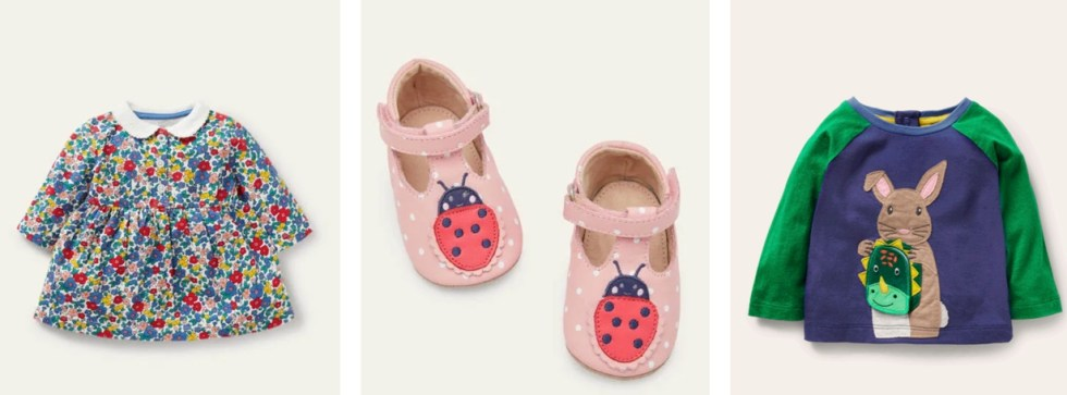 Baby Boden style - 20% off promo codes.