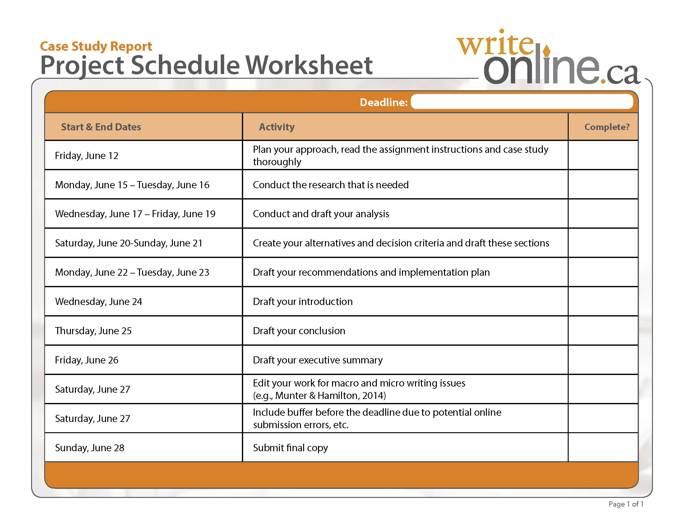 Lab Report Worksheet