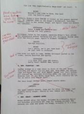 Script Revisions