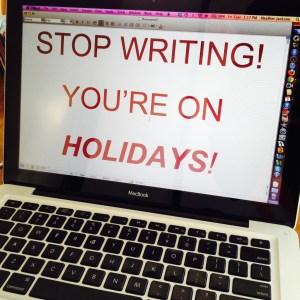 Writer Holiday