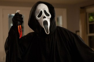 Ghostface from the SCREAM movie franchise.