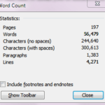 Solutions for Common Writing Mistakes: Runaway Word Counts
