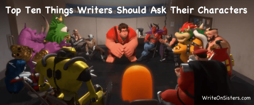 TTT Writers Should Ask Characters