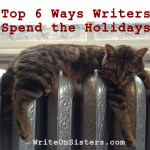 Top 6 Ways Writers Spend the Holidays