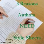 3 Reasons Authors Need Style Sheets