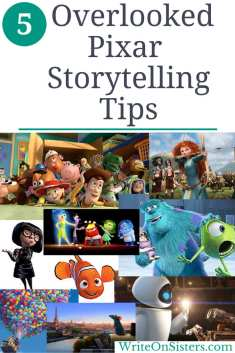 Pixar Tips For Writers