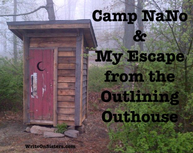outlining outhouse