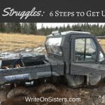 Writer Struggles: 6 Steps to Get Unstuck