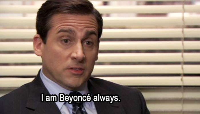 I am Beyonce always