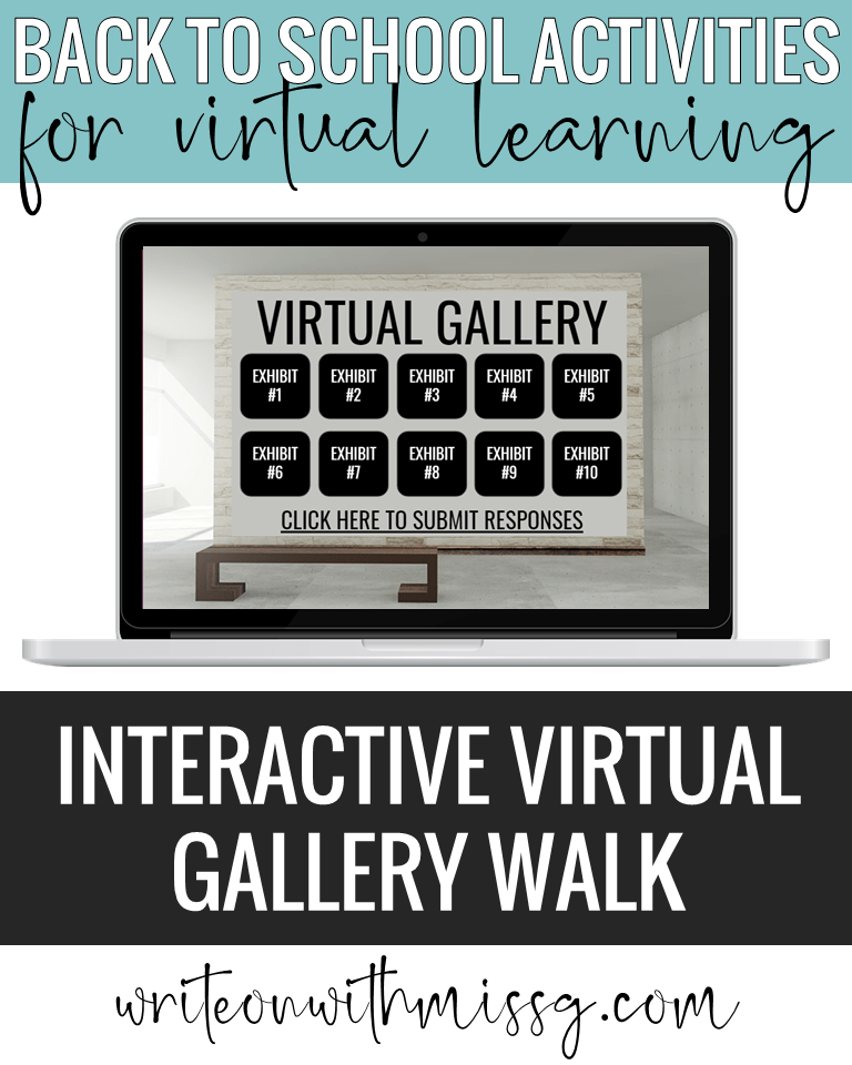 Interactive Virtual Gallery Walk