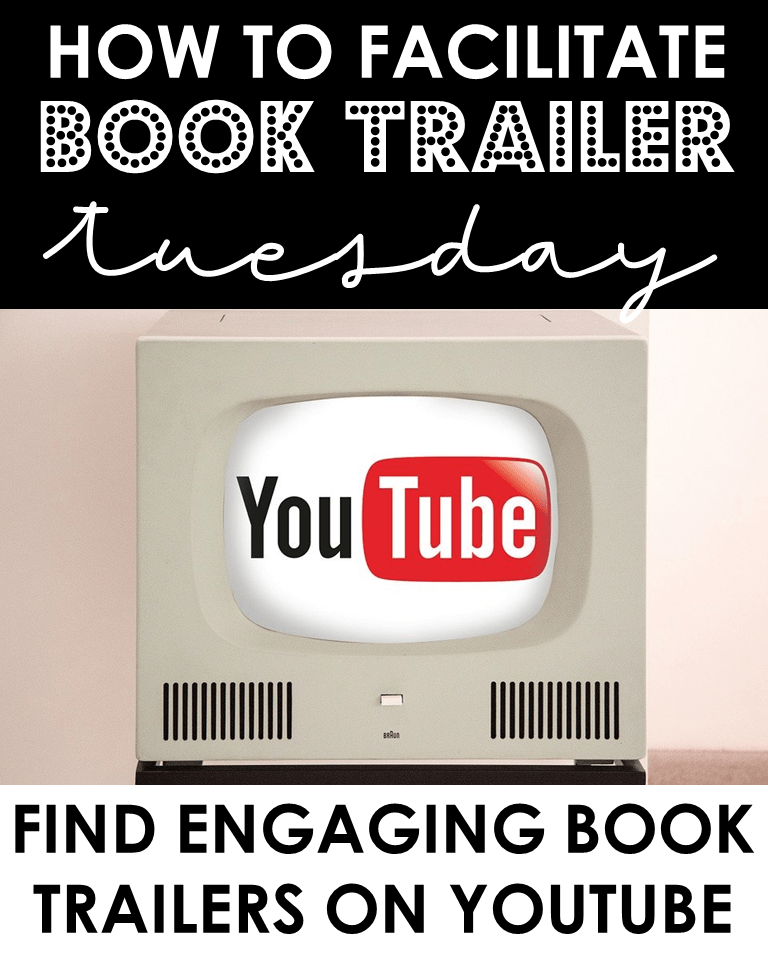 How to facilitate Book Trailer Tuesday: Find engaging book trailers on YouTube.