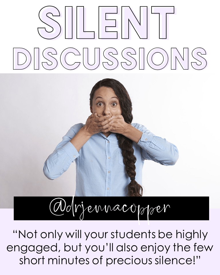 Silent discussions