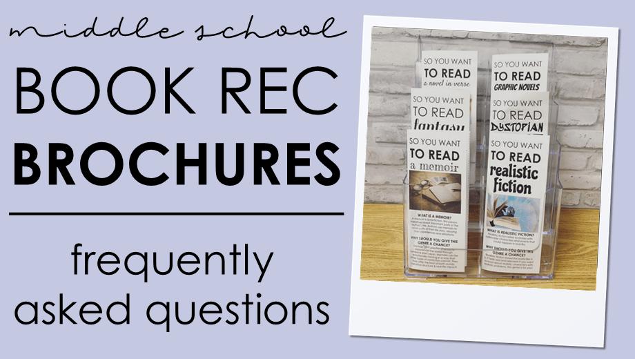 Book Recommendation Brochures: FAQ