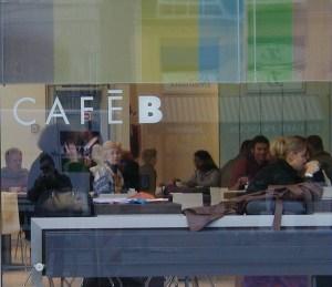 Cafe bar window