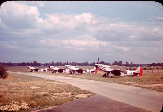 023 P-51s Leiston