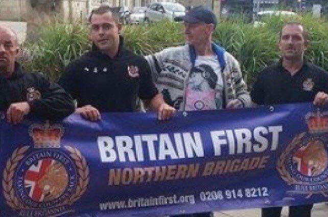 Thomas Mairin a hat, who obviously had nothing to do with Britain First.