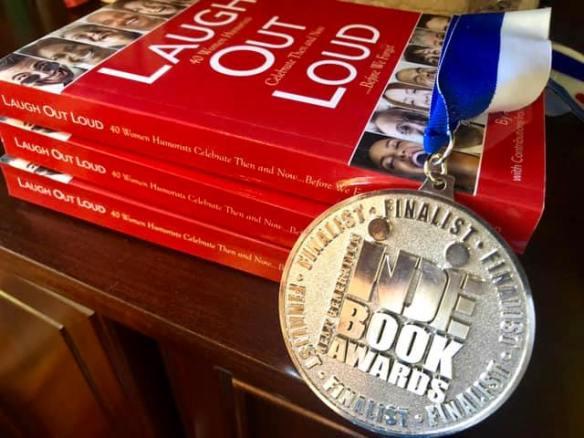 LOL Indie Book award medal