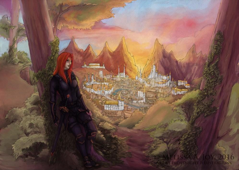 Melkhar - city colour WMK2