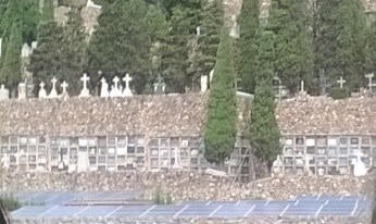 Opened in 1883 as Barcelona's official cemetery on Montjuic Hill