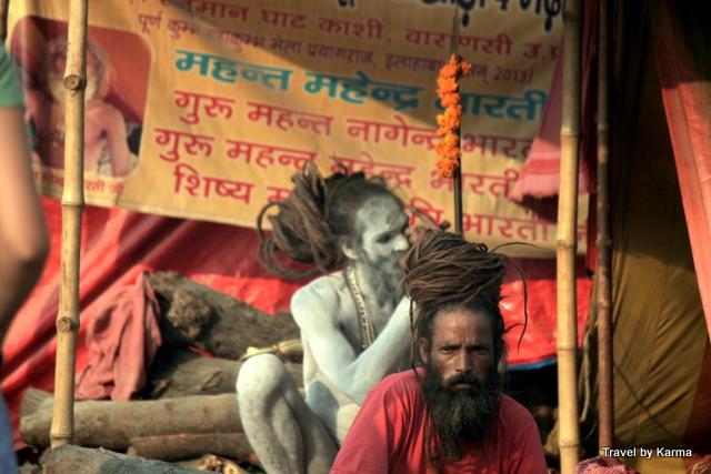 drugged sadhus at kumbh mela
