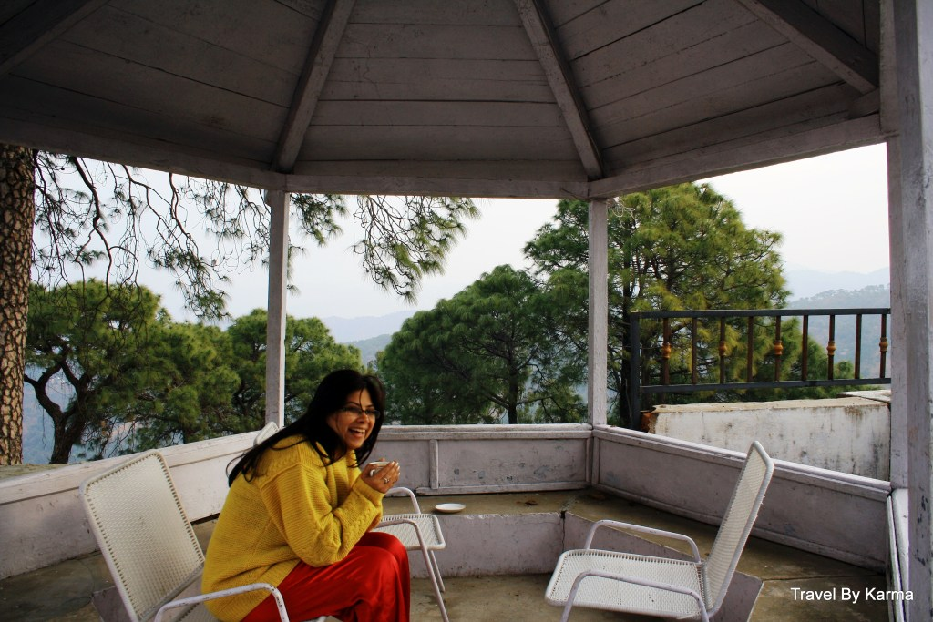 And, I get my morning tea amidst mountains of Kasauli