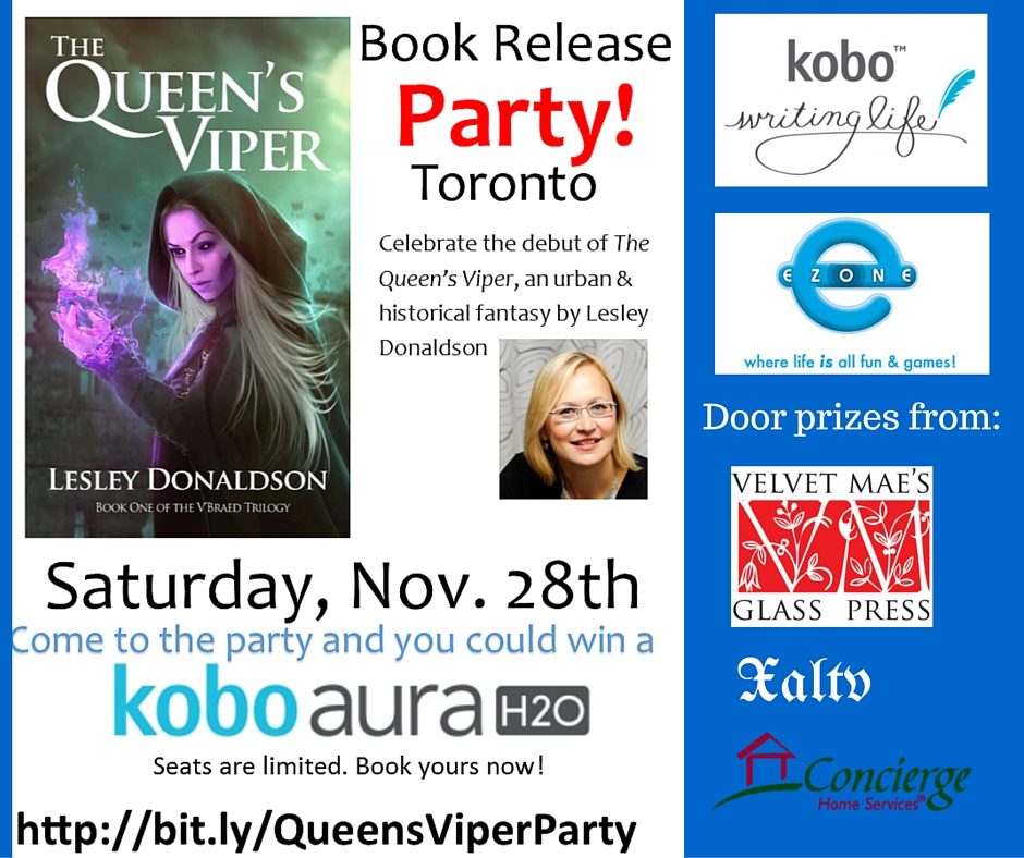 Toronto event book release #canlit