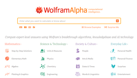 Wolframalpha Best Search Engines Alternatives to Google