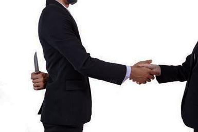 How to Deal with Backstabbing Co-Workers