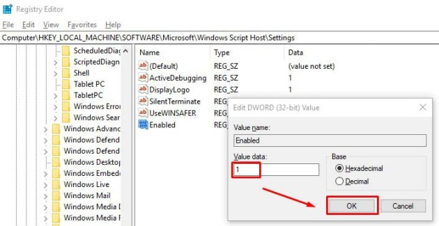 How to Fix Windows Script Host Access is Disabled on This Machine: Windows 10/8/7