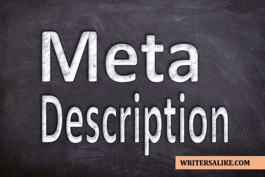 How to Write a Meta Description