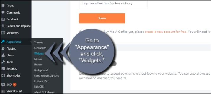 Open WordPres Widgets