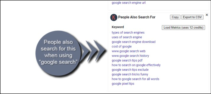 People Also Search