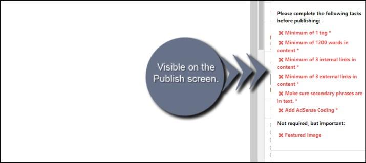 Visible Checklist