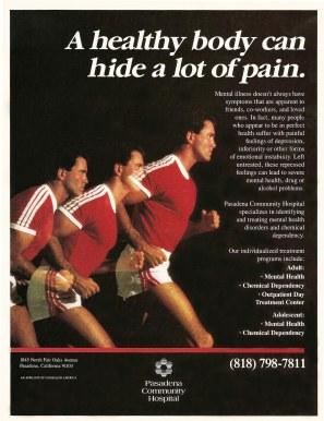 Magazine Ad for Mental Health Treatment
