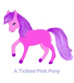 A Tickled Pink Pony – A poem