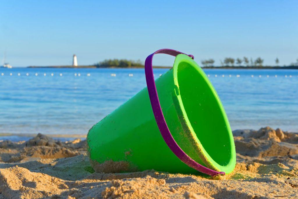 Bucket on the Beach
