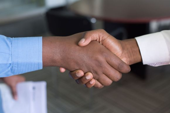 handshake first contact by  Photo by Cytonn Photography on Unsplash