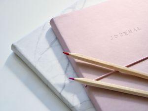 Photo by Plush Design Studio on Unsplash stack of journals