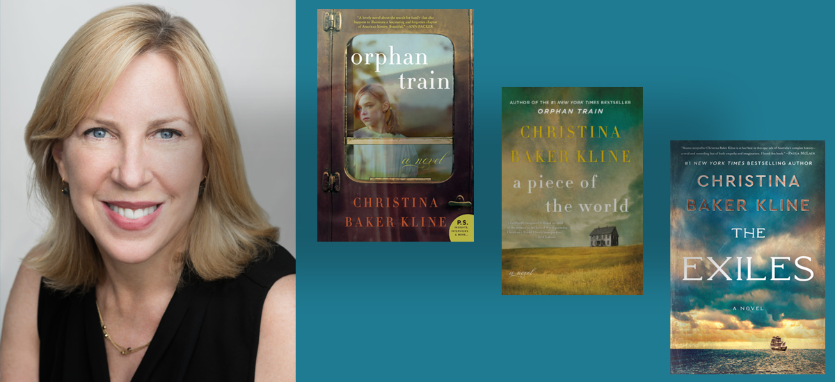 WRANGLING RESEARCH with Bestselling Novelist Christina Baker Kline