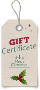 Gift certificate_One Stop For Writers